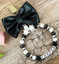 Personalised stunning pram charm in black for baby girls boys ideal gift