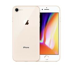 Back Glass Housing Replacement Cover for iPhone 8 with Camera lens + LOGO