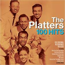 The Platters 100 Hits 4 CD Only You The Great Pretender Smoke Gets in Your Eyes