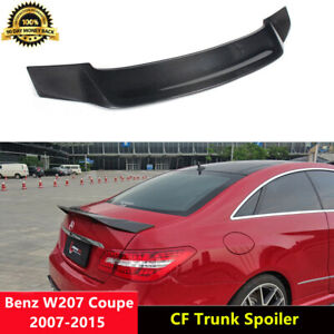W207 Trunk Spoiler Carbon Fiber Wing for Mercedes Benz C207 Coupe 07-15 R Style