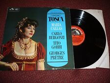 ASD 2300 PUCCINI TOSCA HIGHLIGHTS CALLAS BERGONZI PRETRE STEREO UK