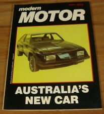 1977.MOTOR.Chrysler DRIFTER PANEL VAN.Jaguar XJS.TORANA.HRG.Falcon Buying Guide