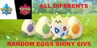Random Eggs Ultra Shiny Legit for Your Game of Pokemon Sword and Shield