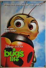 A BUG'S LIFE  DS ROLLED ADV ORIG 1SH MOVIE POSTER PIXAR (1998)