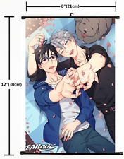 Japanese Anime Yuri On Ice Victor Home Decor Poster Wall Scroll 2050