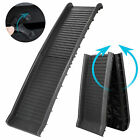 HEAVY DUTY Folding Dog Ramp Pet Ramps for SUV Cars Travel Portable Light Weight