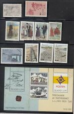 Aland (1993 Year Set) Mint NH - Catalog Value $25.65
