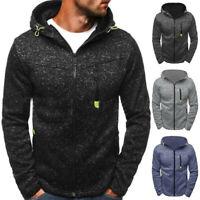 Mode Hommes Sweat à capuche zippé à capuche Sweats vestes à capuches coat jacket