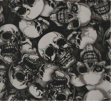 Wassertransferdruck Folie Skulls Einauge - 100cm breit