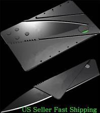 Lot of 5 Survival Credit Card Cardsharp Style Slim  Folding Knives