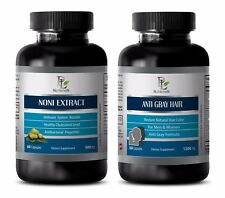 Mood support vitamins - NONI EXTRACT – ANTI GRAY HAIR COMBO - saw palmetto diet