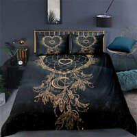 Wonderful Net Woven By Love 3D Quilt Duvet Doona Cover Set Pillow case Print