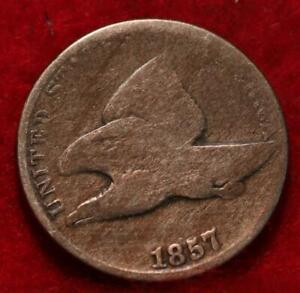 1857 Philadelphia Mint Copper-Nickel Flying Eagle Cent