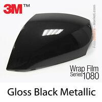 100x152cm FILM Gloss Black Metallic 3M 1080 G212 Vinyle COVERING Series Wrap