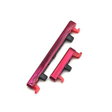 For Xiaomi Redmi 7 / Note 7 Pro Side Power ONOFF Volume Up Down Button Key RED