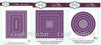 Lisa Horton - Creative Expressions Stitched Scallop Layered Collection - CHOOSE