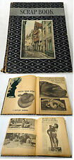 1930s SNAKE scrapbook ~ SNAKE CHARMER, Anaconda, Python, Boa, etc.