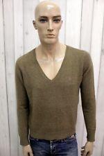 RALPH LAUREN Maglione Uomo Taglia L Lana Cashmere Casual Pull Pullover Sweater