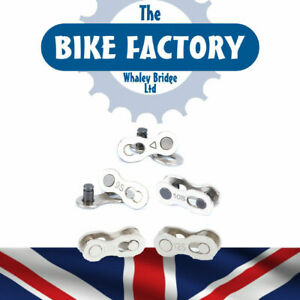 Bike Bicycle Chain Quick Missing Link X 4 Pece Steel for 6 7 8 9 10 11 12 Speed