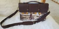 Nappa Dori Hand Crafted Vintage Leather Messenger Bag