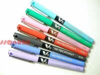 7 x Pilot BX-V5 V5 Hi-Tecpoint 0.5mm Pure Liquid Ink Rollerball pen, Mixed Color