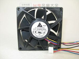 DELTA FFB0812EH Huawei server Cooing fan 12V 0.8A 4-Pin 80x80x25mm