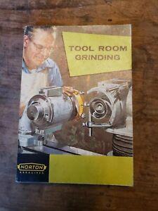Vntg Norton Abrasives Handbook On Tool Room Grinding
