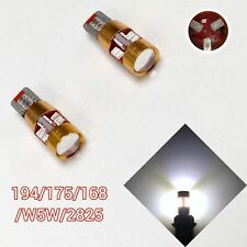 T10 W5W 168 194 2825 12961 White LED License Plate light Canbus B1 For BMW U