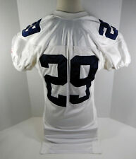 Virginia Cavaliers  #29 Game Used  White Jersey