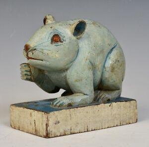 20th Century, Burmese Wooden Rat