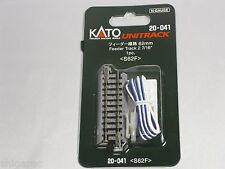 Kato n gauge Unitrack Feeder track 62mm 20-041