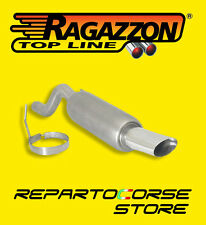 RAGAZZON TERMINALE SCARICO OVALE 110x65mm FIAT GRANDE PUNTO 1.9  MJET 120CV 2005