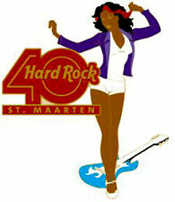 Hard Rock Cafe St. Maarten 40Th Year Decades. Pin *