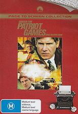 Patriot Games - NEW DVD