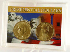 2007 Washington & 2010 Lincoln Uncirculated Dollars 2-coin Set in Gift Case
