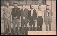 WAYNESBORO PA Sesquicentennial Beavers Advertising Men Vintage Postcard Old Rare