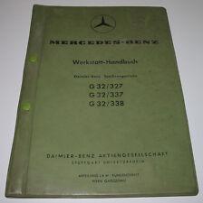 Werkstatthandbuch Mercedes Daimler Benz Synchron Getriebe G 32 / 327 / 337 / 338