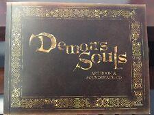 DEMON'S SOULS ART BOOK & SOUNDTRACK CD