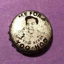 1959 Yoo Hoo Bottle Cap  YOGI BERRA   Yankees