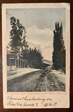 c.1908 El Camino Real, Capistrano, Santa Anna California Photo Postcard Rare!