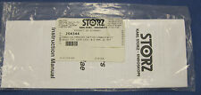 Karl Storz 204344 Thomassin Straight Suction Cannula W/ 90deg Curved Tip 0.8mm