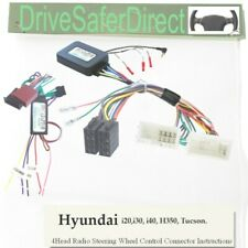 SWC-2978-02L Stalk Adaptor,LEARNING for Android Chinese Radio/Hyundai i30 12-16