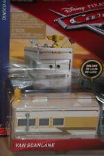 """DISNEY PIXAR CARS 3 """"VAN SCANLANE"""" DELUXE MODEL, SHIP WORLDWIDE"""