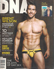 NEW! DNA #180 BRENT WILSON Gay World Mykonos Nutrient Australia Asylum SS
