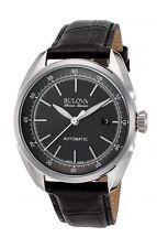 Bulova Accu-Swiss 63B188 Tellaro Mens Swiss Made Automatic Watch $1000 NEW RARE