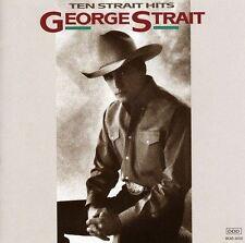George Strait - Ten Strait Hits - Album CD Endommagé Boîtier