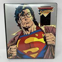 1993 Skybox The Return Of Superman Base Set/Gold Foil Set & Original Binder Rare