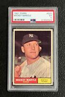New York Yankees Mickey Mantle 1961 Topps #300 PSA Ex 5 41932324