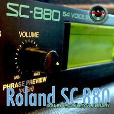 for Roland SC-880 - unique original WAV/Kontakt Multi-Layer Samples Library DVD