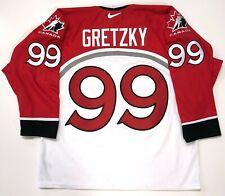 WAYNE GRETZKY NIKE 1998 NAGANO OLYMPICS TEAM CANADA WHITE JERSEY SIZE LARGE